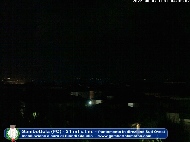 Webcam Gambettola Meteo
